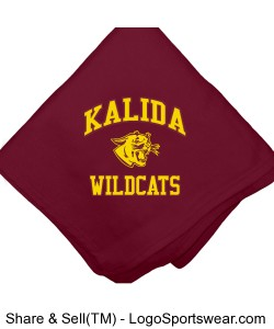 Kalida Wildcats Blanket Design Zoom